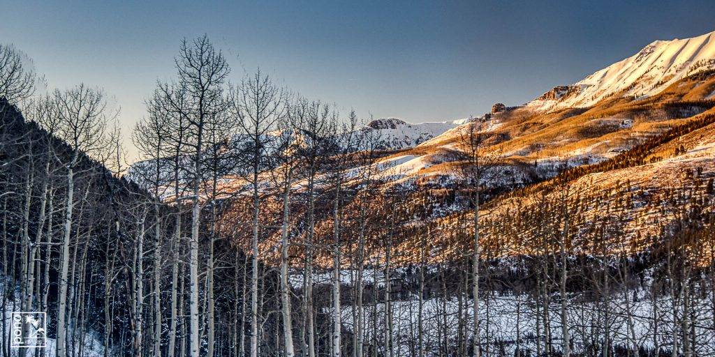 Sunset on the Aspen, Telluride, CO | Photography by Pono Images