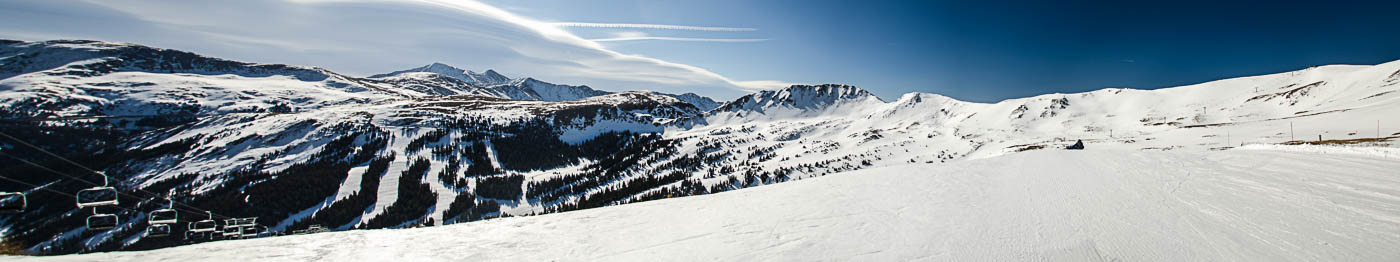 Panomamic View, Loveland Ski Area from Lift 4 | Pono Images