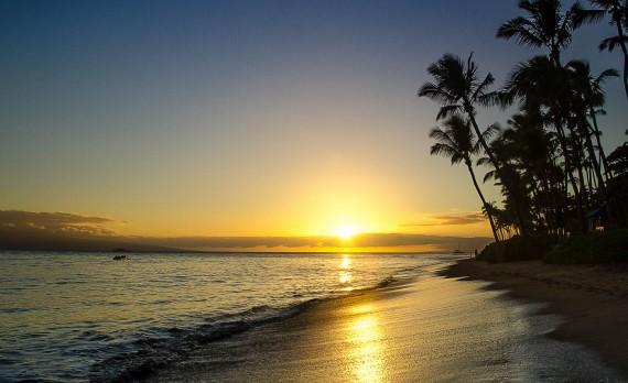 Ka'anapali Sunset, Maui, Hawai'I | Pono Images
