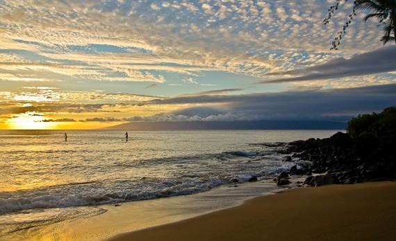 Sunset Paddleboards - Maui, Hawai'I | Pono Images