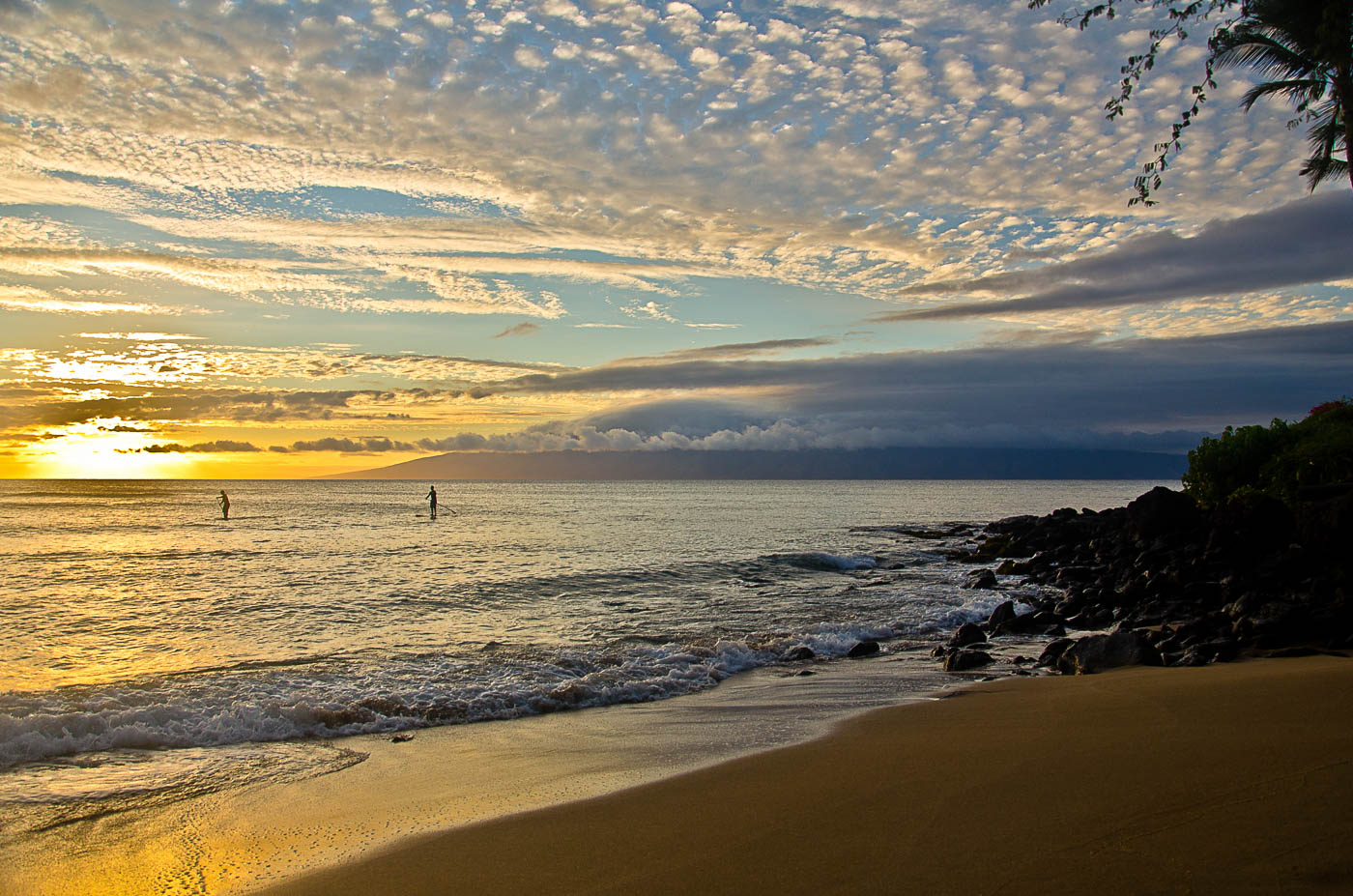 Sunset Paddleboards - Maui, Hawai'I | Pono Images
