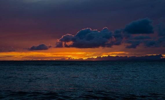 Sunset Burn, Mahainahina Pt, Maui, HI | Pono Images