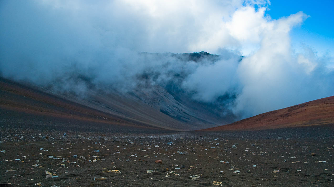 Sliding Sands Clouds - Haleakala, Maui | Pono Images