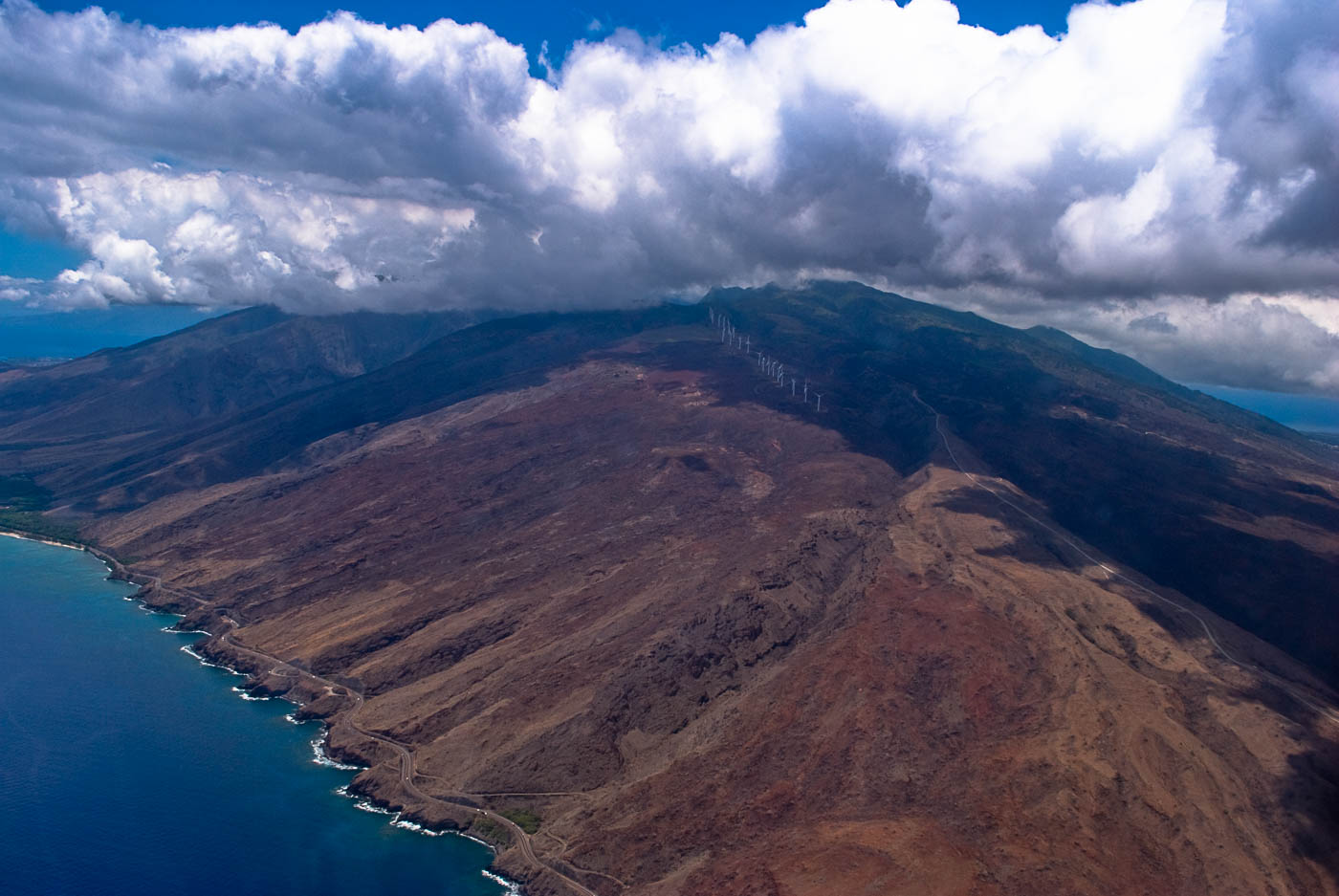 Over McGregor Point, Maui, Hawai'I | Pono Images