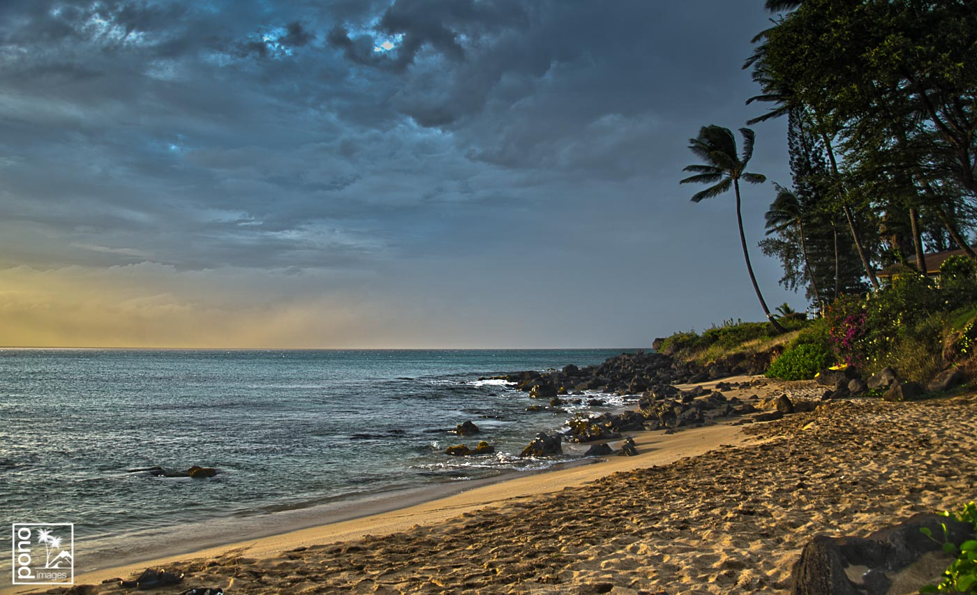 Maui Storm at Sunset | Pono Images
