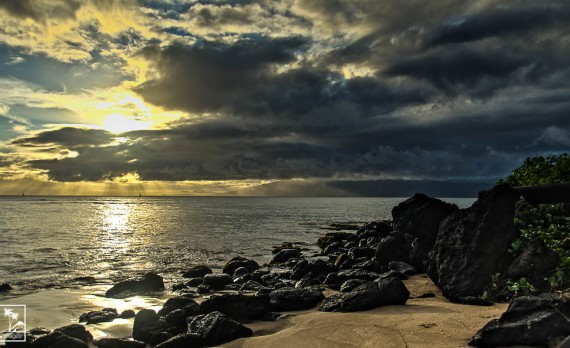 Sunset Glow, Mahinahina Pt, Maui | Pono Images