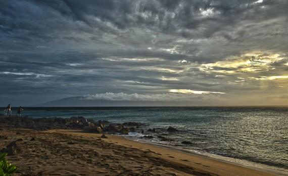 Mahinahina Storm - Maui Sunset | Pono Images