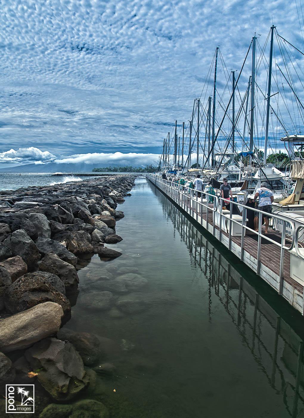Harbor Afternoon, Lahaina Maui | Pono Images
