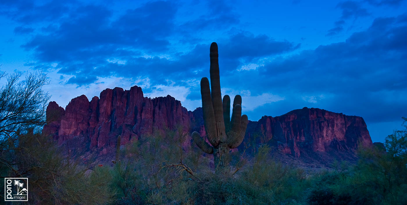 Superstition Mountain Sunset | Pono Images