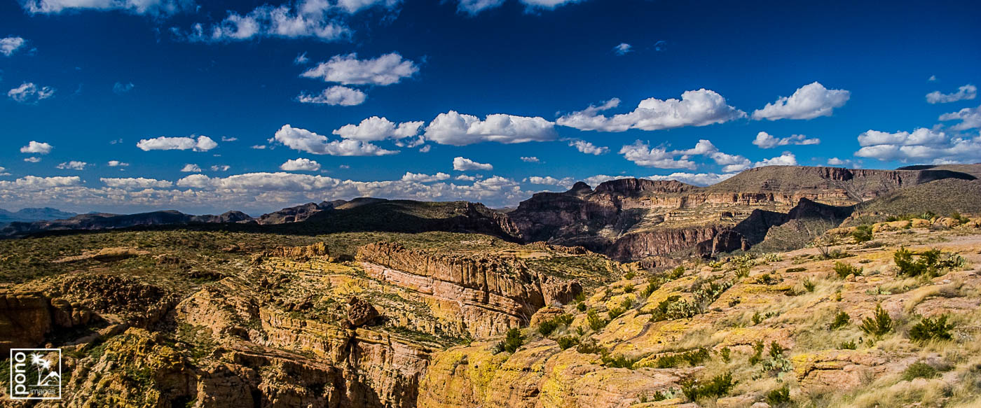 Desert Afternoon on the Apache Trail | Pono Images
