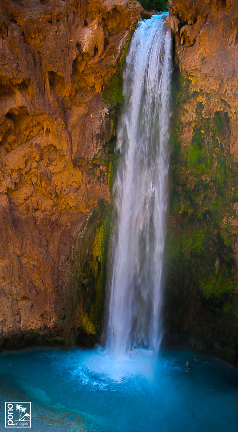 Detail of Mooney Falls | Pono Images