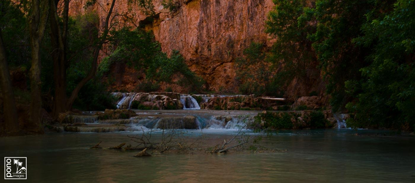 Havasu Creek below Mooney Falls | Pono Images