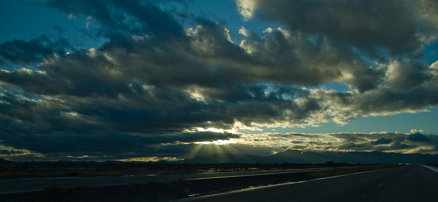 Evening clouds outside Maricopa, Arizona | Pono Images