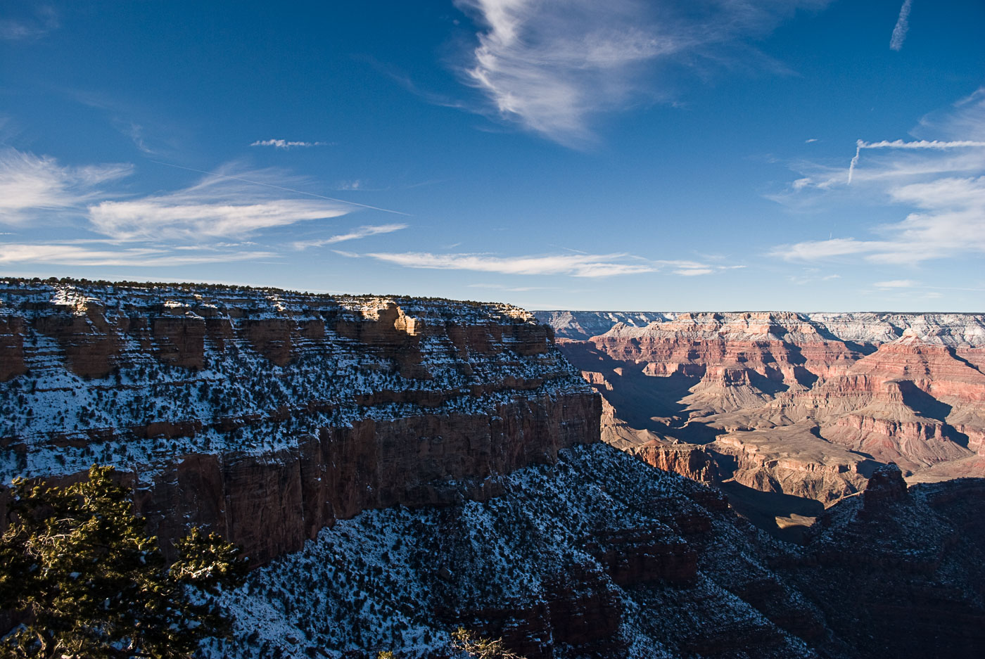 Grand Canyon with Bright Angel Snow | Pono Images