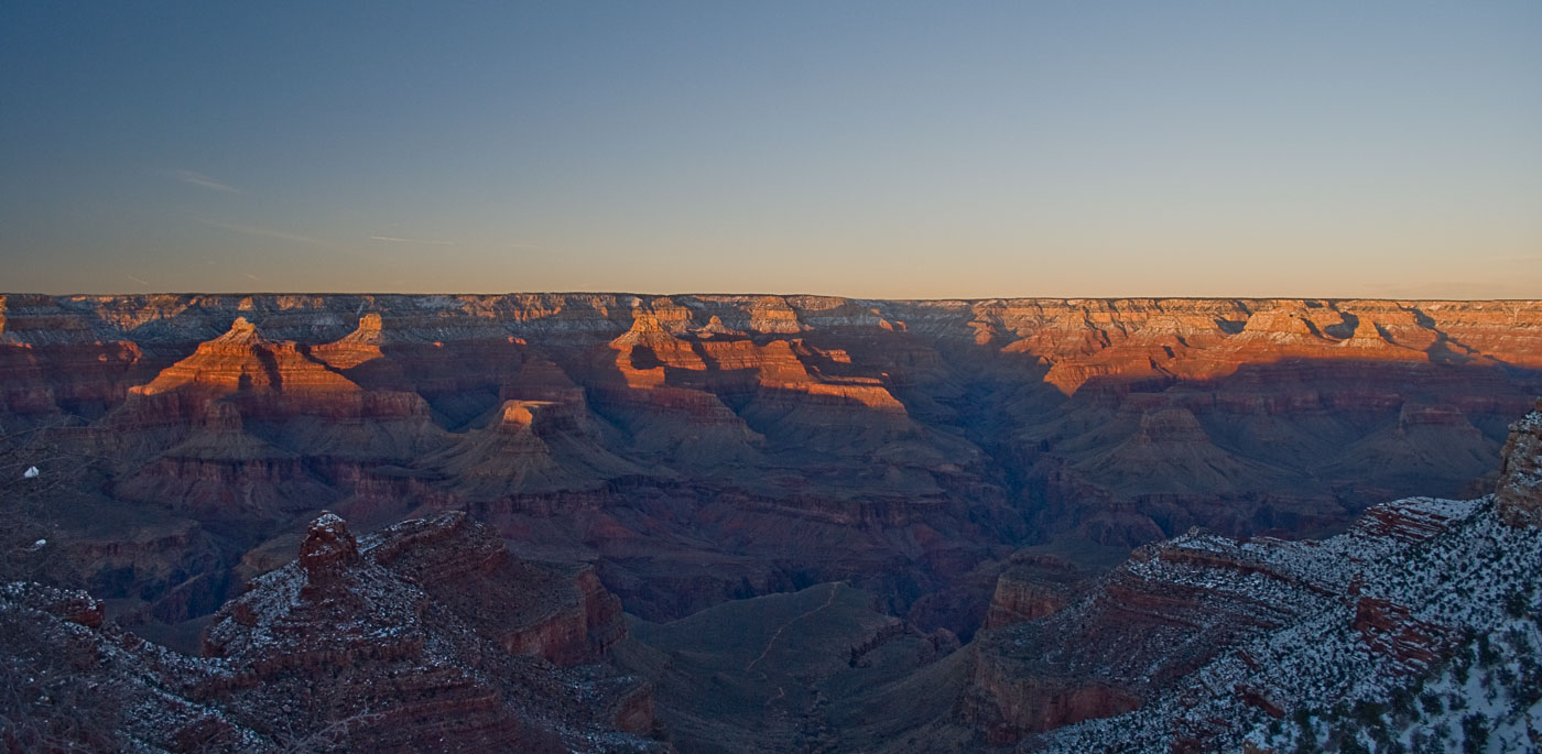 Last Light - Winter in the Grand Canyon | Pono Images