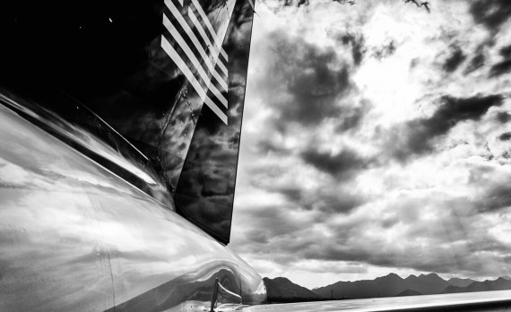 US Airways A320 Tail, Cabo San Lucas   Pono Images