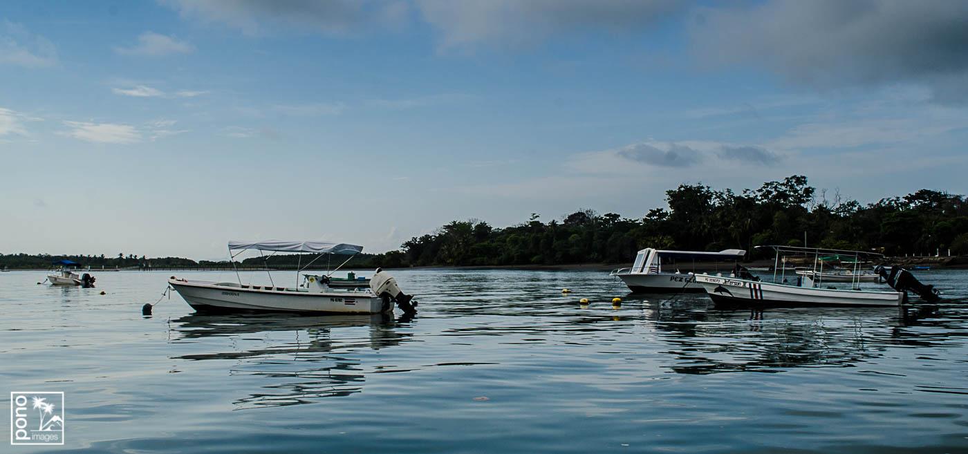 Fishing boats, Puerto Jimenez, Costa Rica | Pono Images
