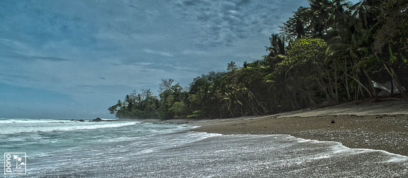 Morning surf along Matapalo Beach, Costa Rica