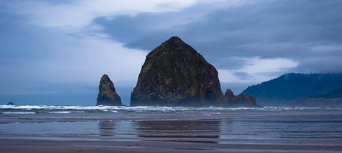 Haystack Rock Reflections, Cannon Beach, Oregon | Pono Images