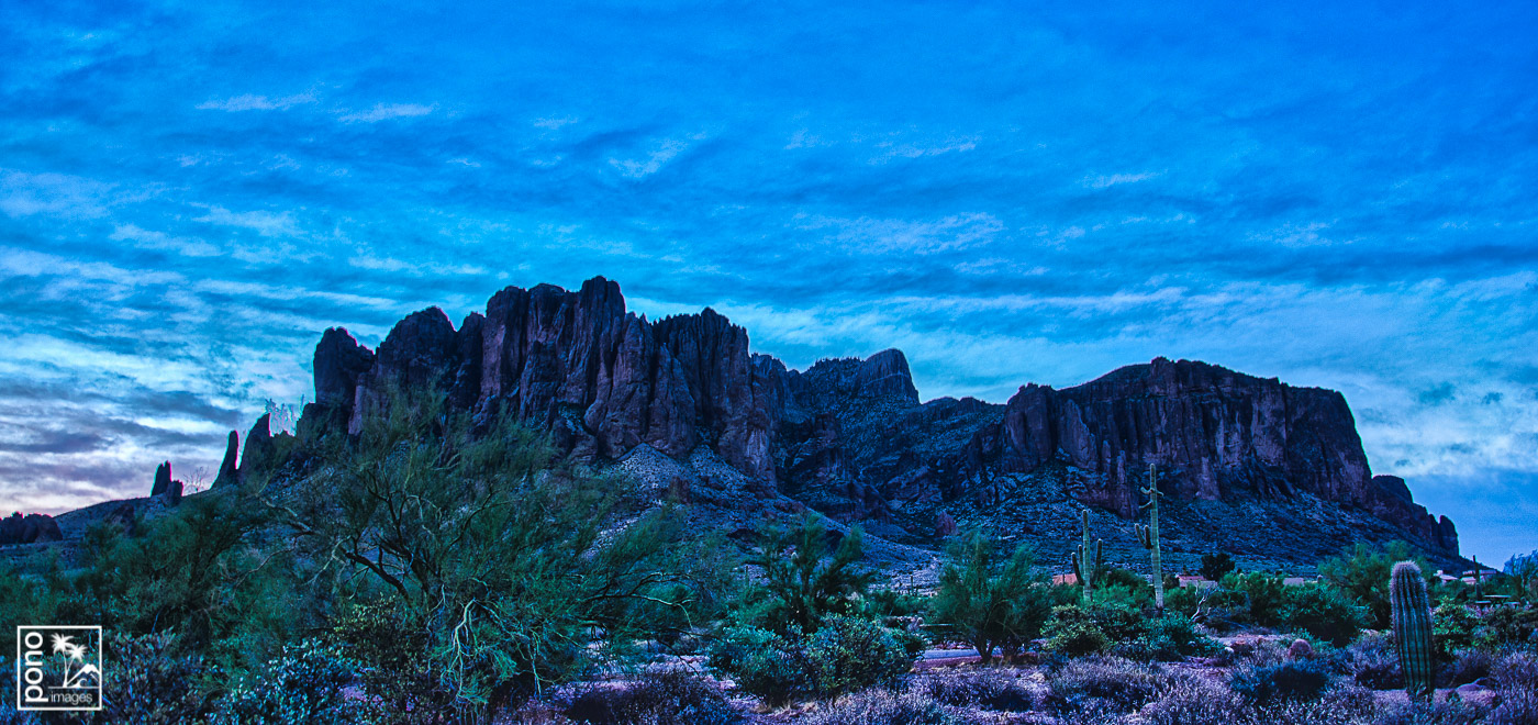 Purple Dawn - Superstition Mountains