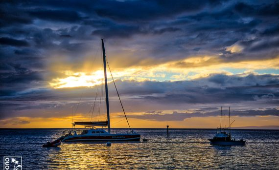 Sunset off Mala | Pono Images