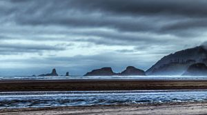 Dark Clouds At Cannon Beach | Photography by Pono Images