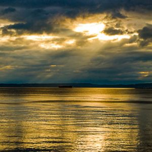 Puget Sound Sunset | Photography by Pono Images