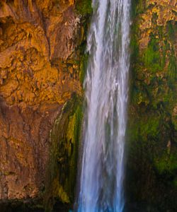Detail of Mooney Falls | Photography by Pono Images