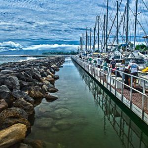Lahaina Harbor Boardwalk | Hawai'i Photography by Pono Images