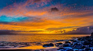 Panoramic Maui Sunset | Photography by Pono Images