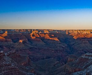 Last Light - Winter in the Grand Canyon by Pono Images