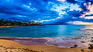 Napili Bay Sunset Panorama | Photography by Pono Images