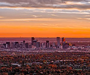 Denver Skyline Sunrise | Photography by Pono Images