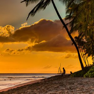Ka'anapali Sunset Glow | Hawai'i Photography by Pono Images