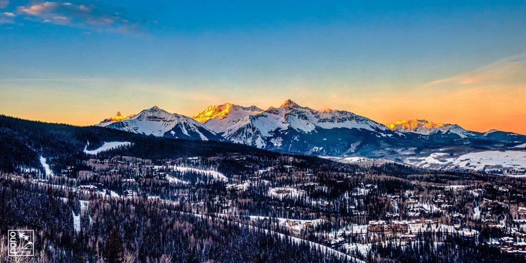 Wilson Peak Sunrise - Telluride