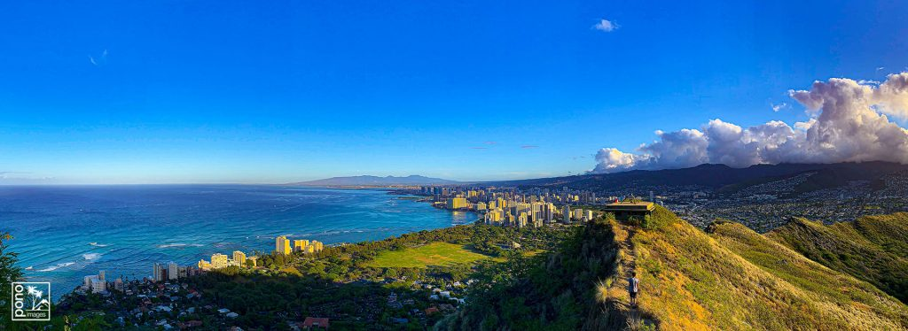 Honolulu Panorama Morning | Photography by Pono Images