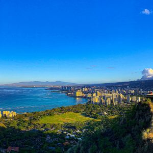 honolulu, diamond head, hawaii, oahu