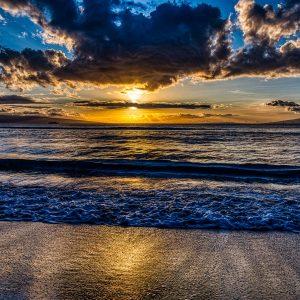 Mala Sunset Surf | Hawai'i Photography by Pono Images
