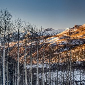 Sunset on the Aspen, Telluride, CO